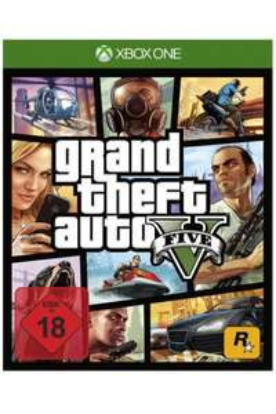 Grand Theft Auto V PL + nakładki na analogi Xbox One