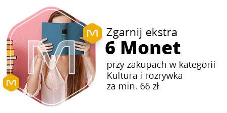 +6 Monet za zakupy od 66 zł w kategorii Kultura i rozrywka