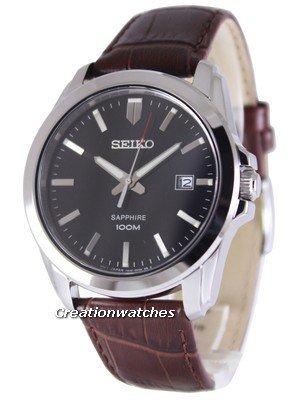 ZEGAREK Seiko Neo Classic Quartz Sapphire 100M SGEH49P2