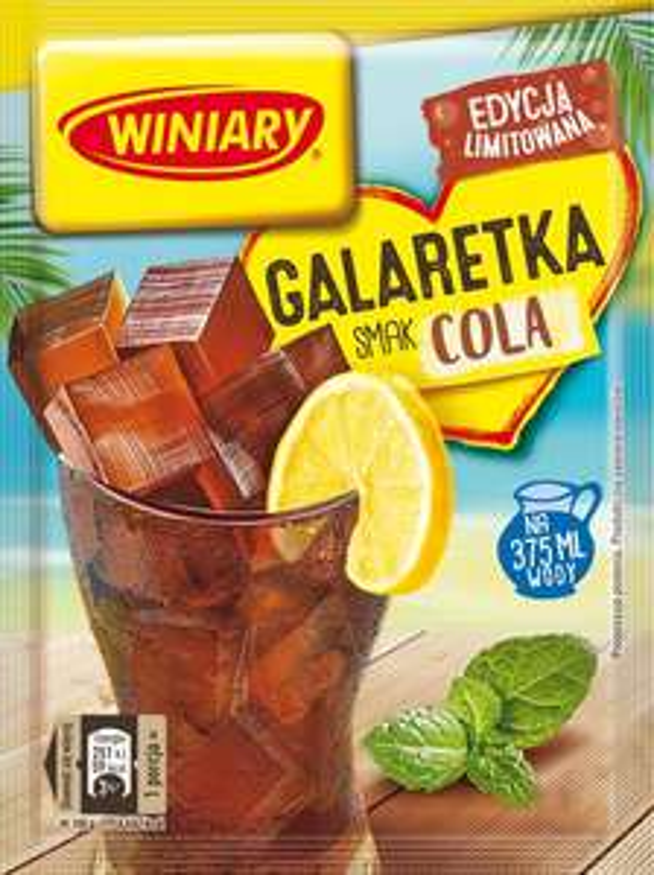 Galaretka o smaku coli Winiary 47g Biedronka