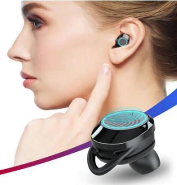 Słuchawki QCR z Smarttouch ładowane w kieszeni + KUPON SPRZEDAWCY