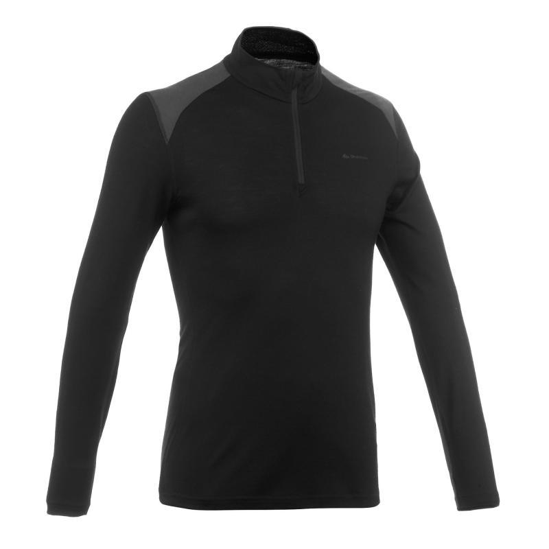 Męska koszulka trekkingowa (100% wełny merynosowej!) Forclaz TechWOOL 190 @ Decathlon