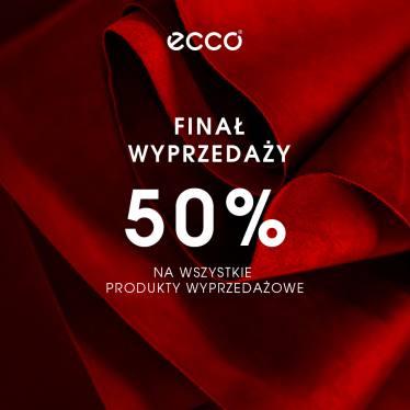 Pogłębienie wyprzedaży do 50% (taki sam rabat na wszystkie modele) @ Ecco