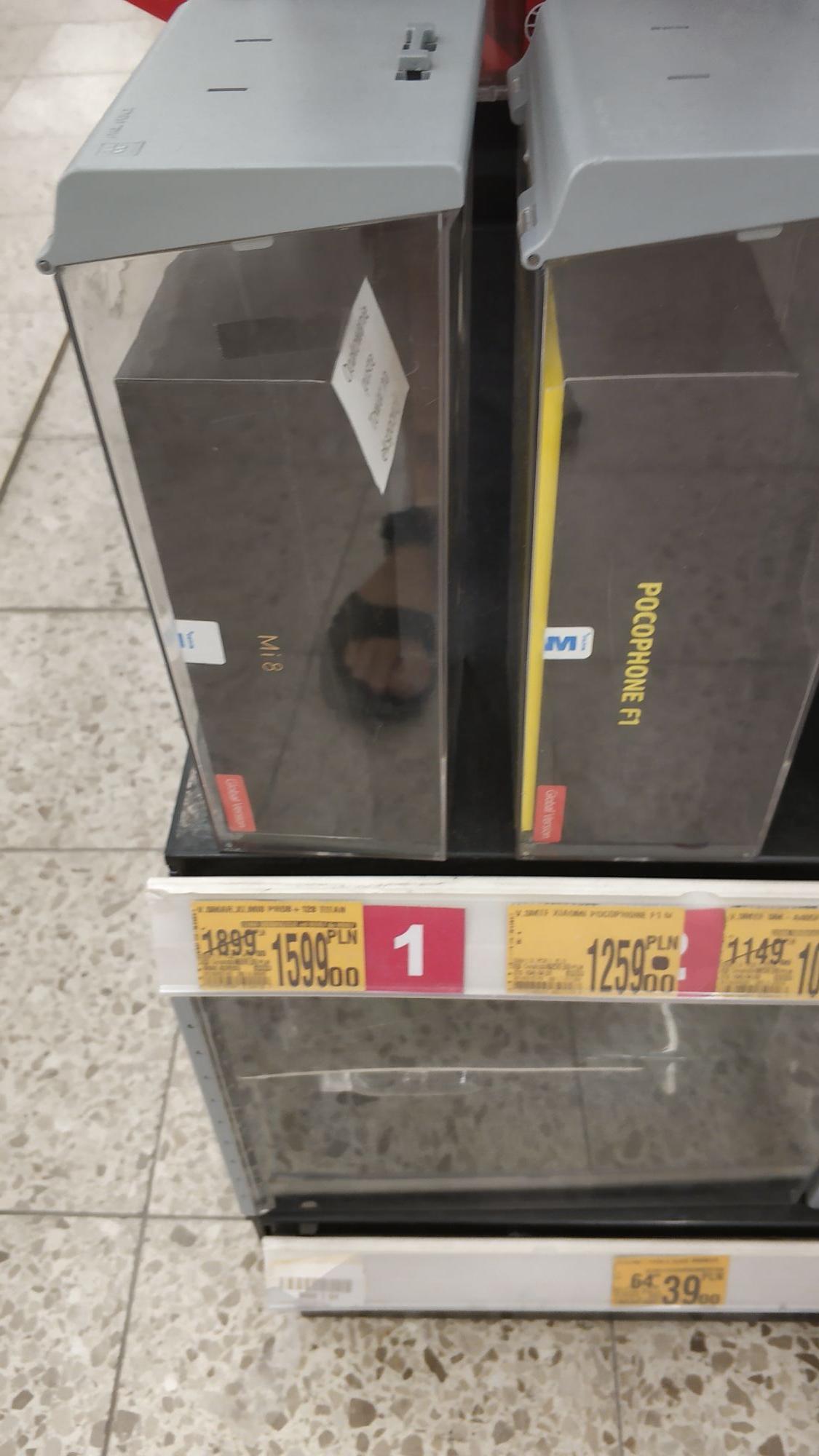 Smartphone Xiaomi Mi 8 Pro 8/128GB Transparent Titanium. Auchan Lubin.