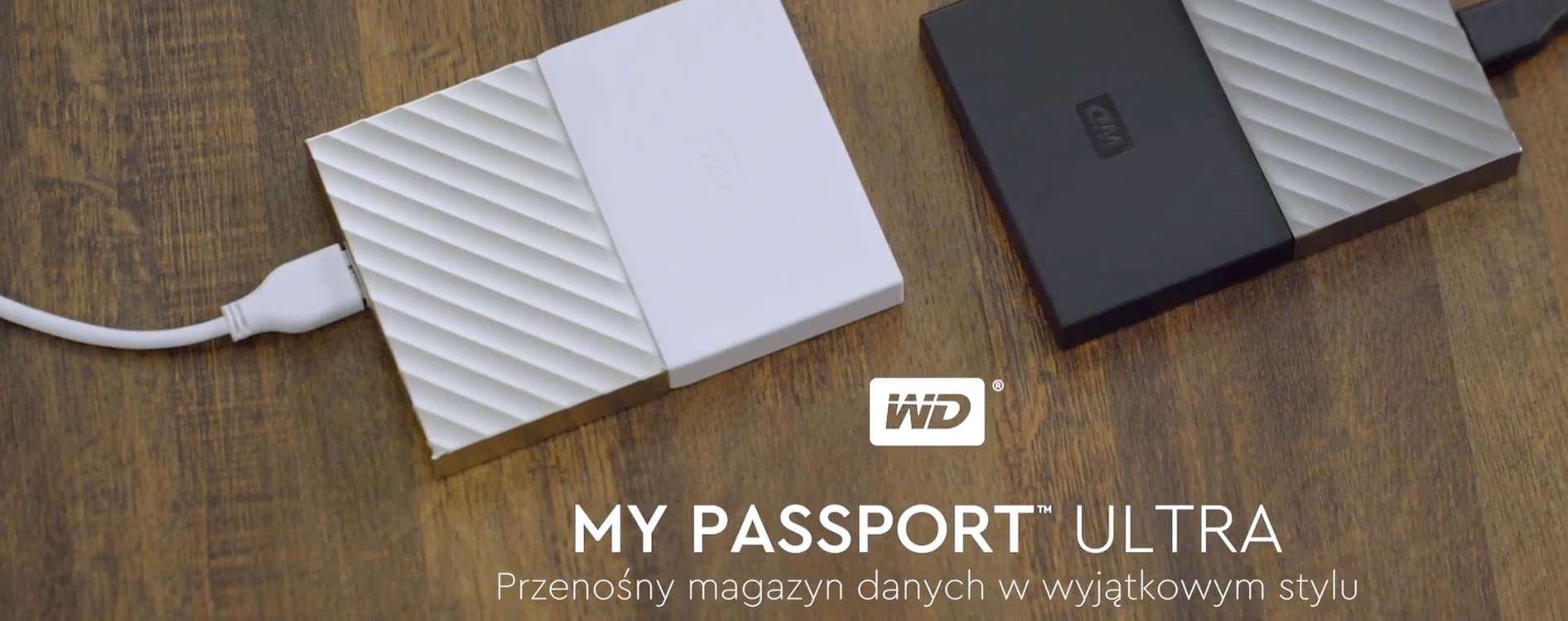 """HDD 2.5"""" Western Digital WD My Passport Ultra - 2 TB"""