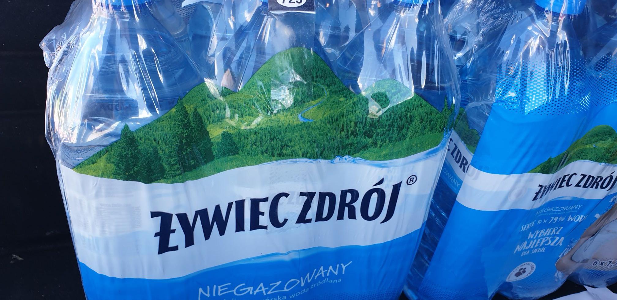 Woda żywiec niegazowana 1,75l Biedronka