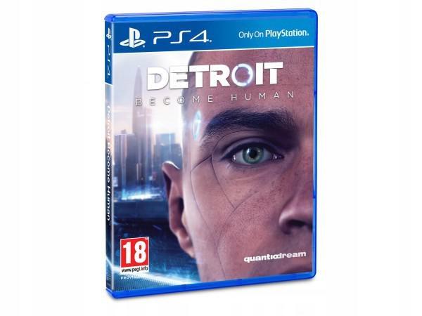 Detroit Become Human PS4 pudełko @Allegro Neo24