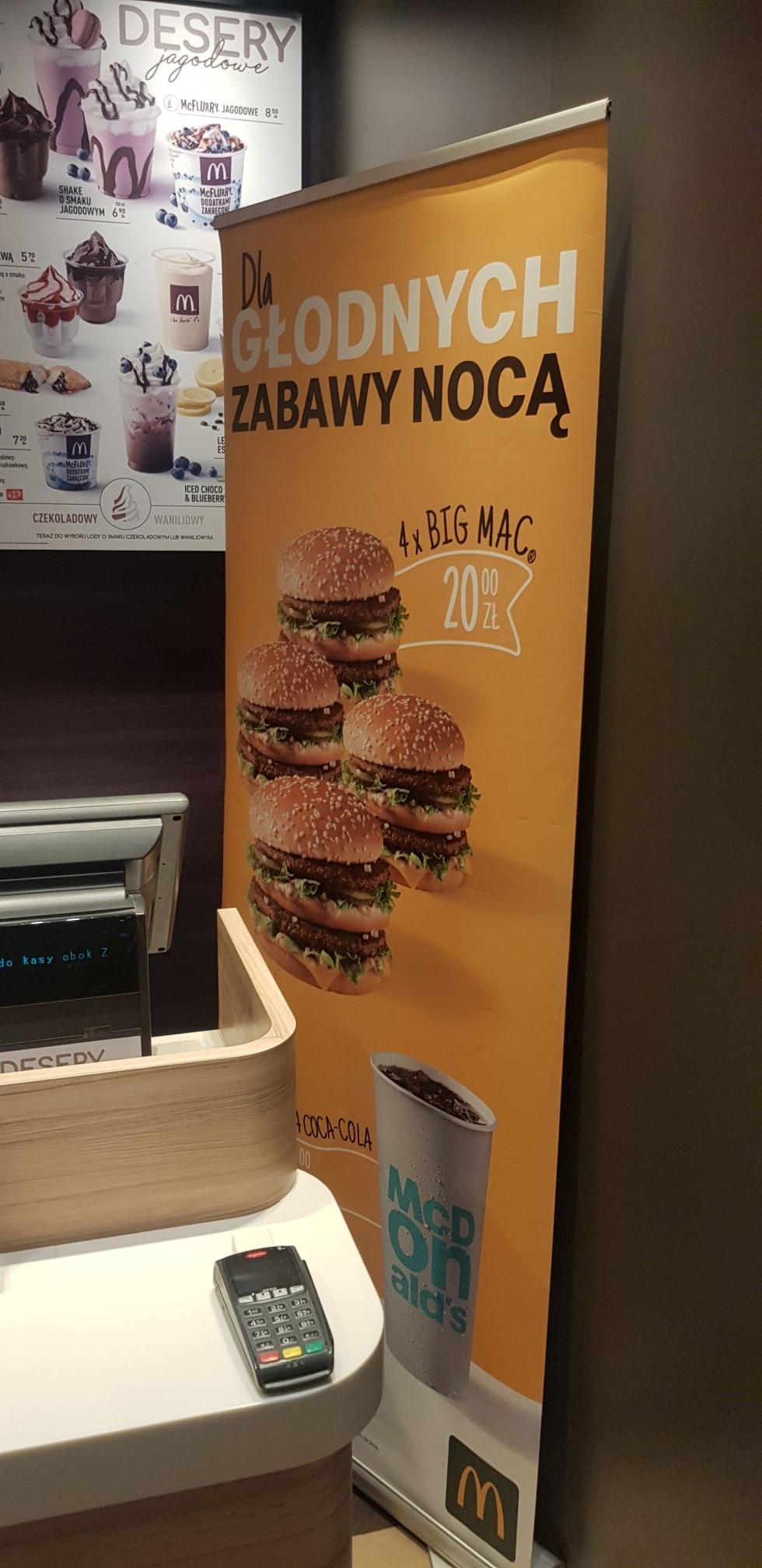 4x Big Mac. McD Kłodzko