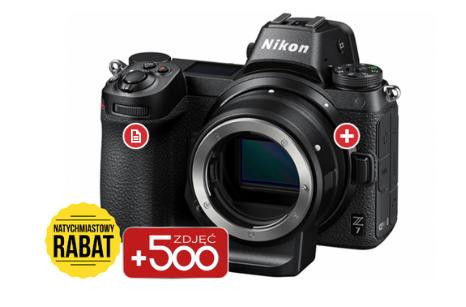 Nikon Z7 Body + adapter + karta XQD 64GB