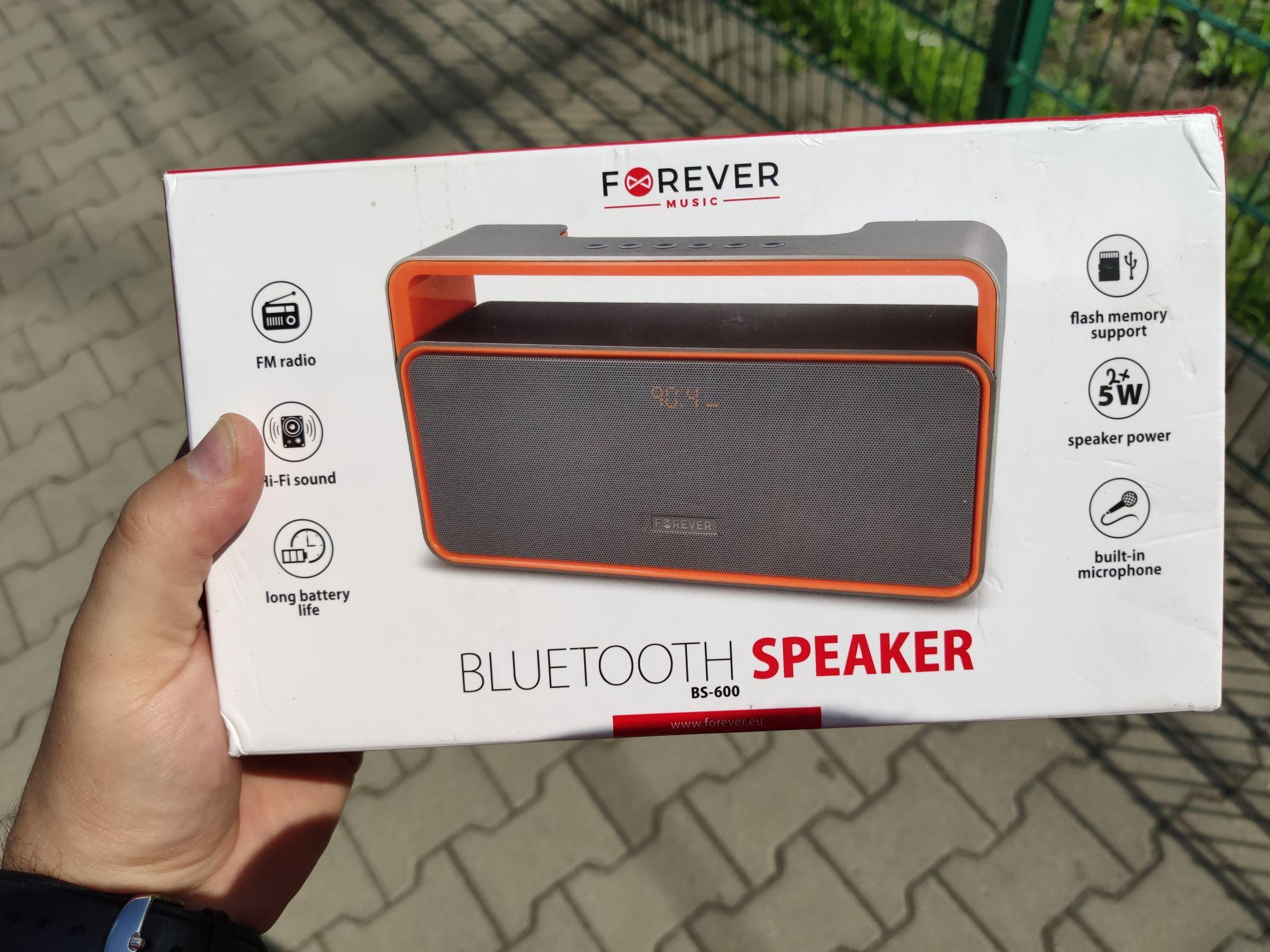 Głośnik bluetooth/radio forever bs600 .Kaufland