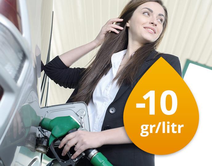 Rabat -10gr/litr na Statoil