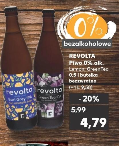 Kaufland: Kraftowe piwo bezalkoholowe Revolta