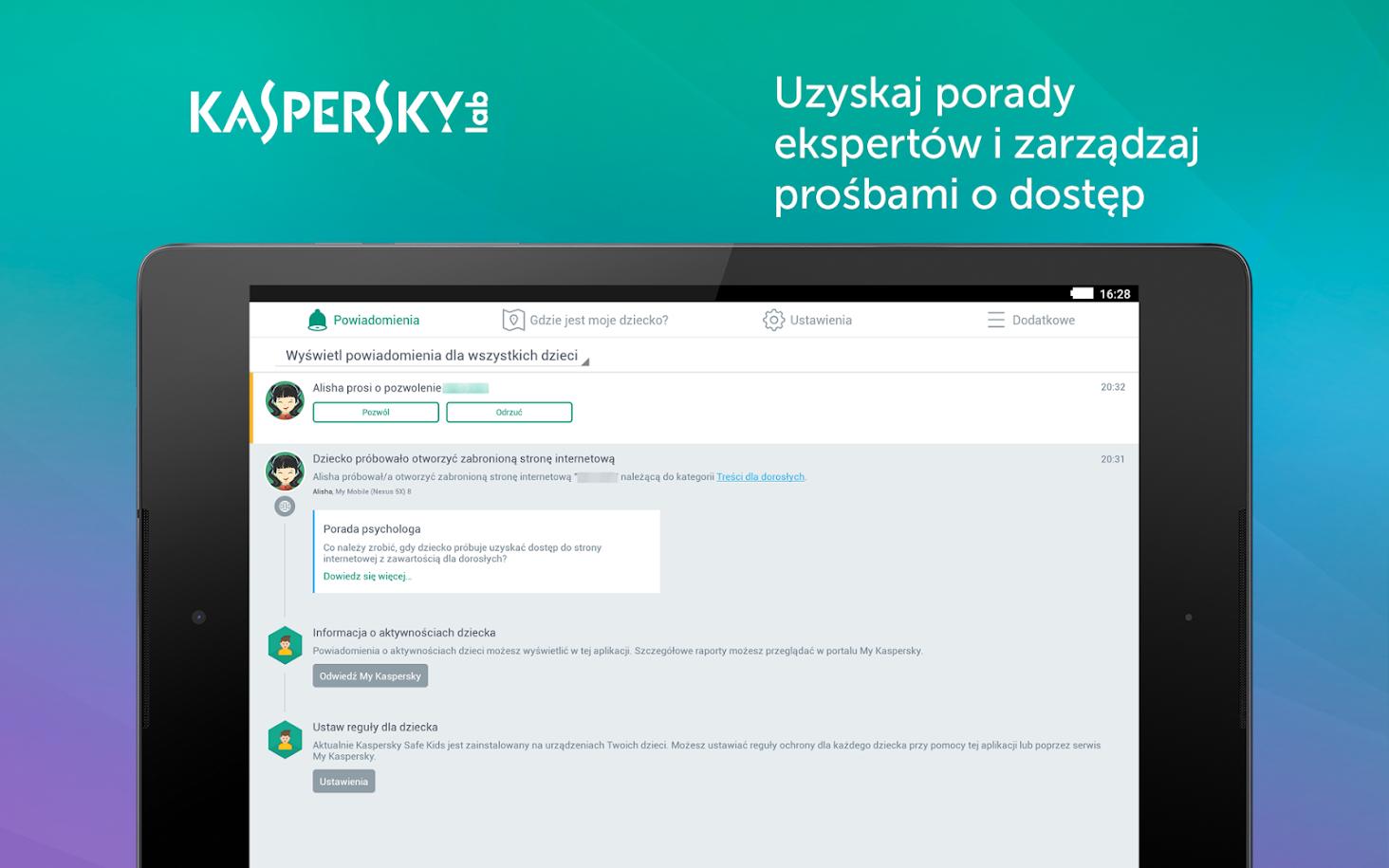 Kaspersky Safe Kids Premium 1 rok OFERTY SPECJALNE
