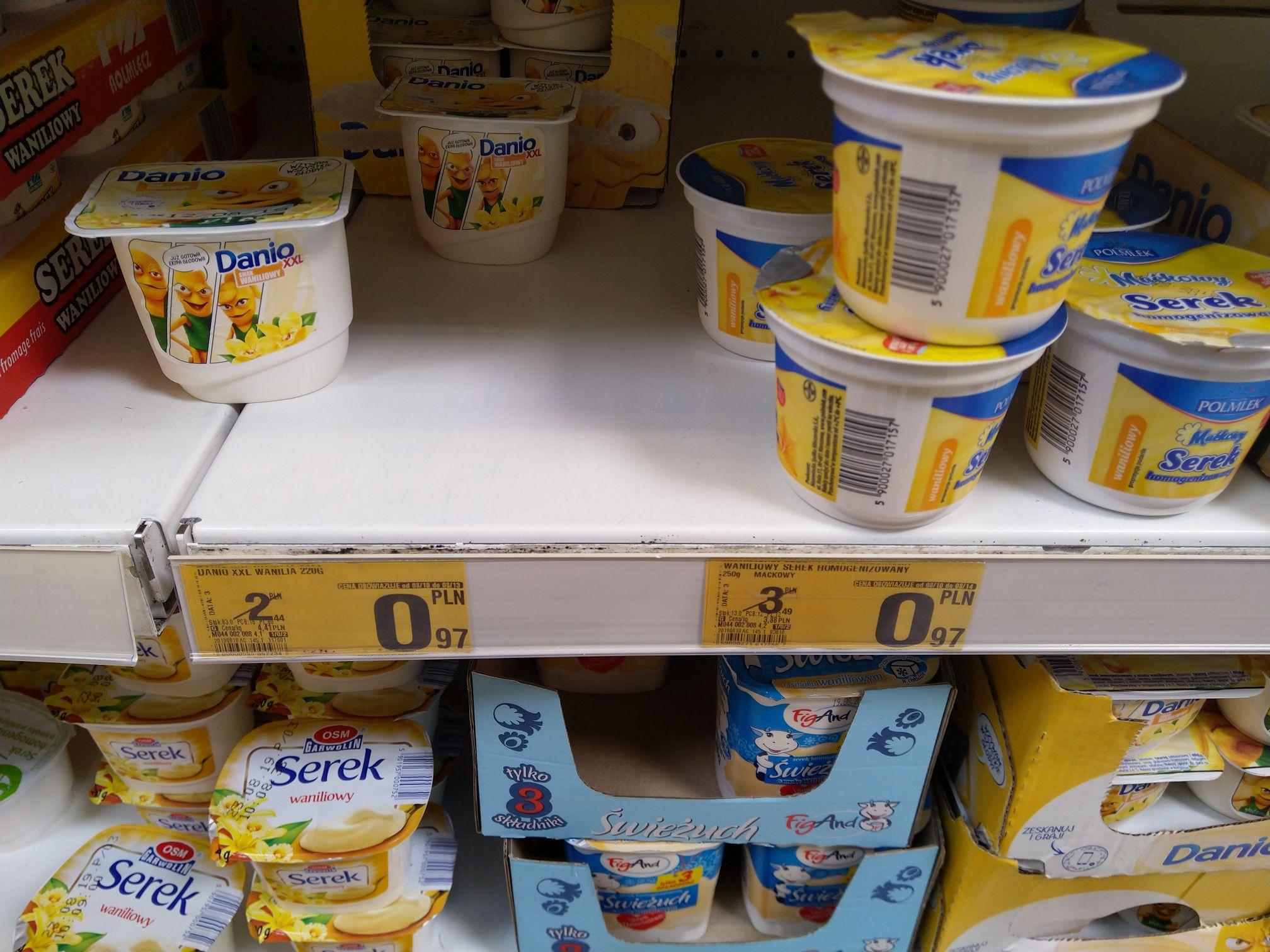 Promocja na Jogurty w Auchan Krokus [Kraków]