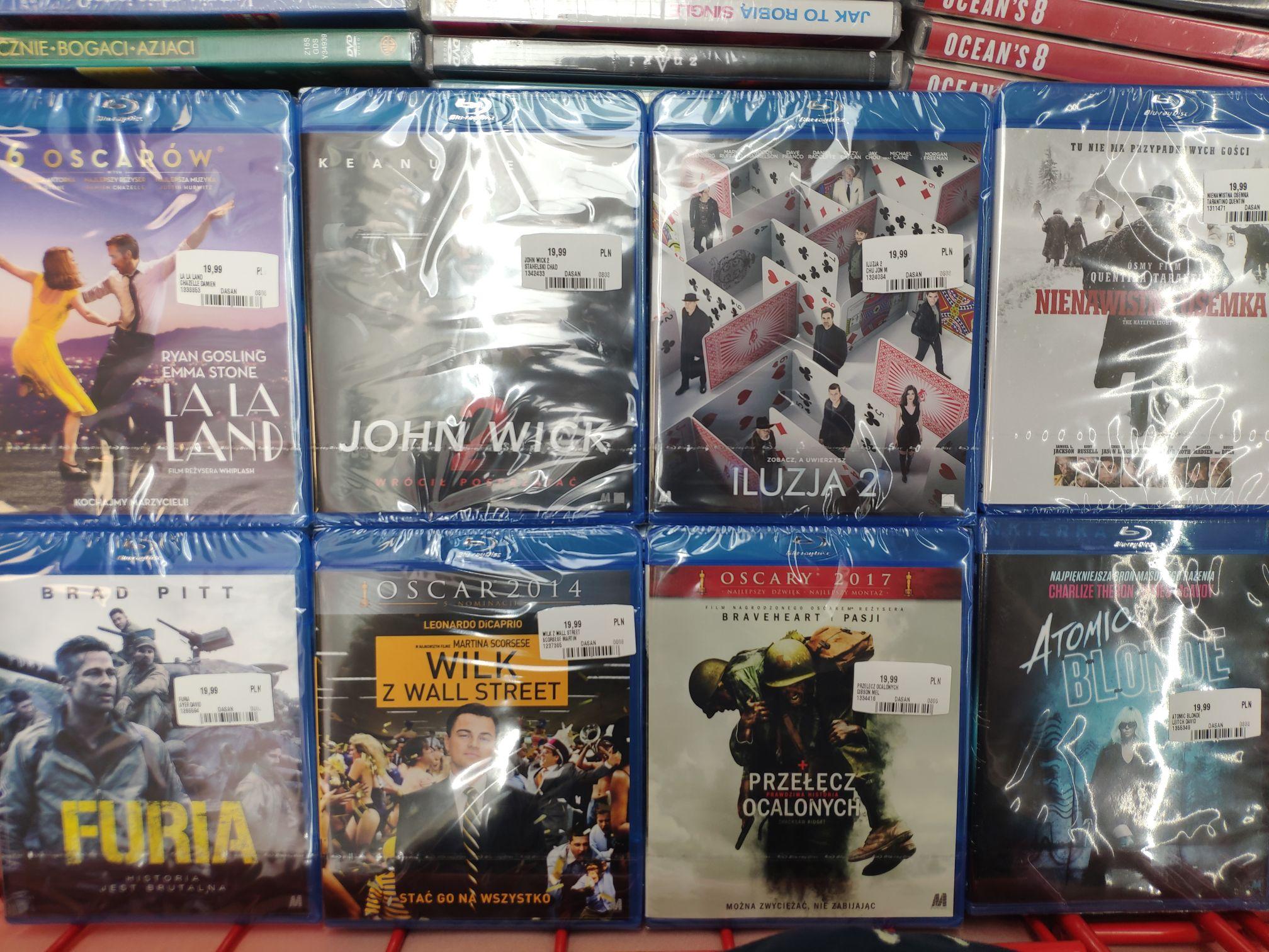 Filmy Blu-ray po 19,99 zl