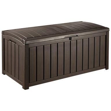 Skrzynia ogrodowa GLENWOOD 390 L brązowa KETER