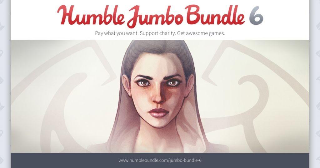 Jumbo Bundle 6 (m.in: Shadowrun: Dragonfall, Magicka 2 i inne)  @ Humble Bundle