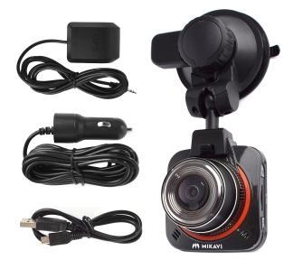 Rejestrator jazdy Mikavi PQ1 GPS, FullHD