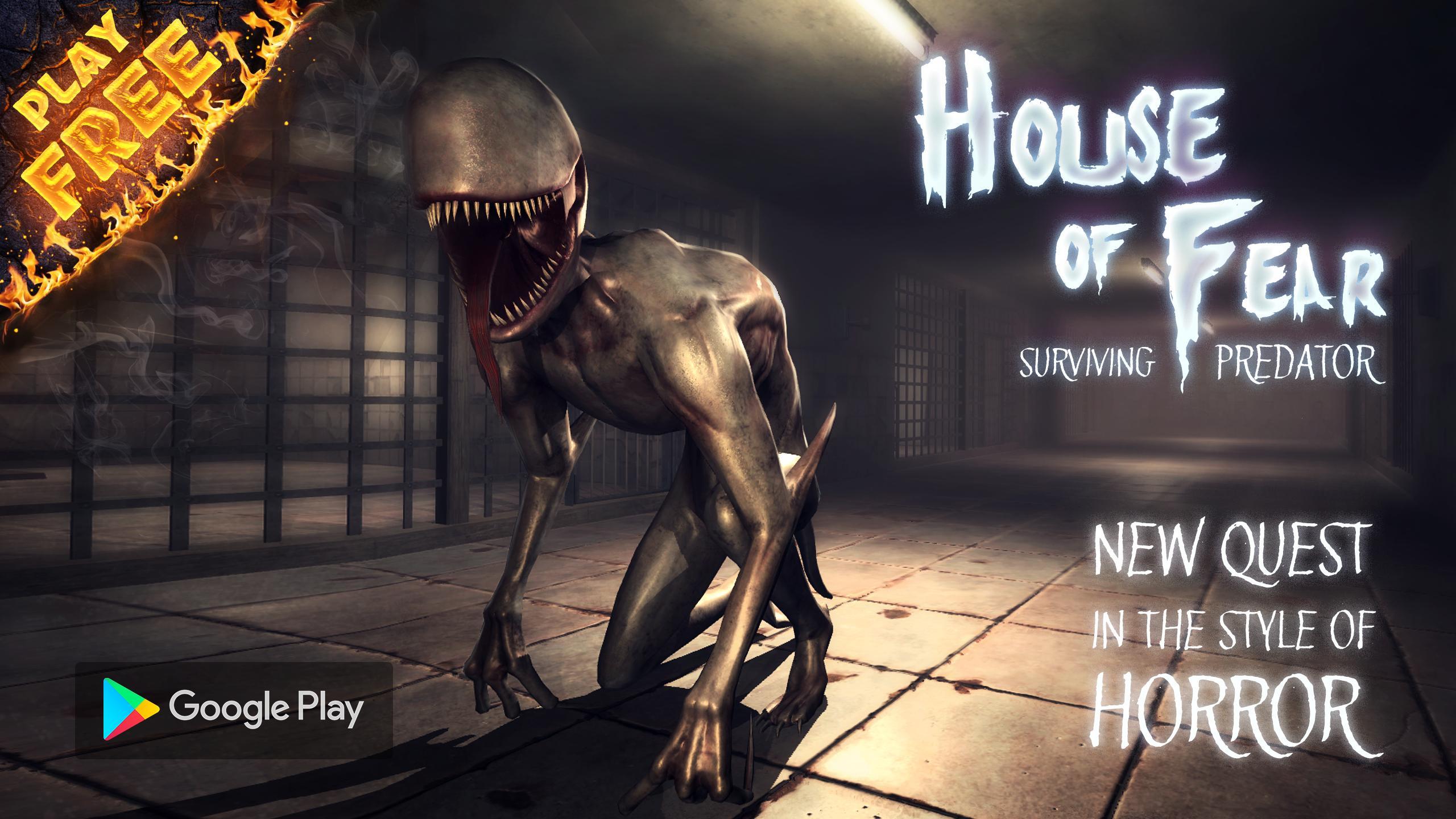 House of Fear: Surviving Predator PRO gra za darmo Android !!!(PC poprzez BlueStacks4)!!!