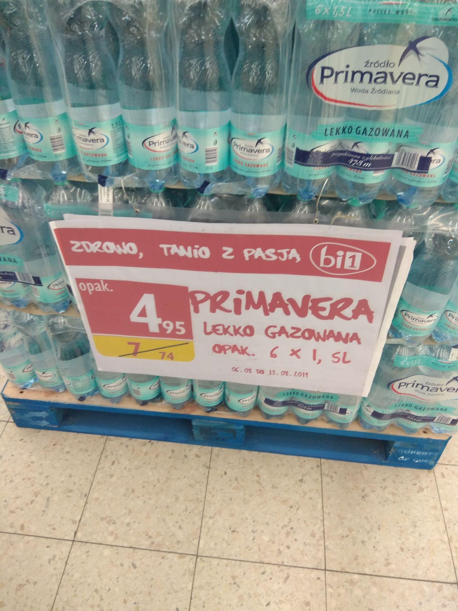 Woda Primavera, Bi1, różne rodzaje 6x1.5l
