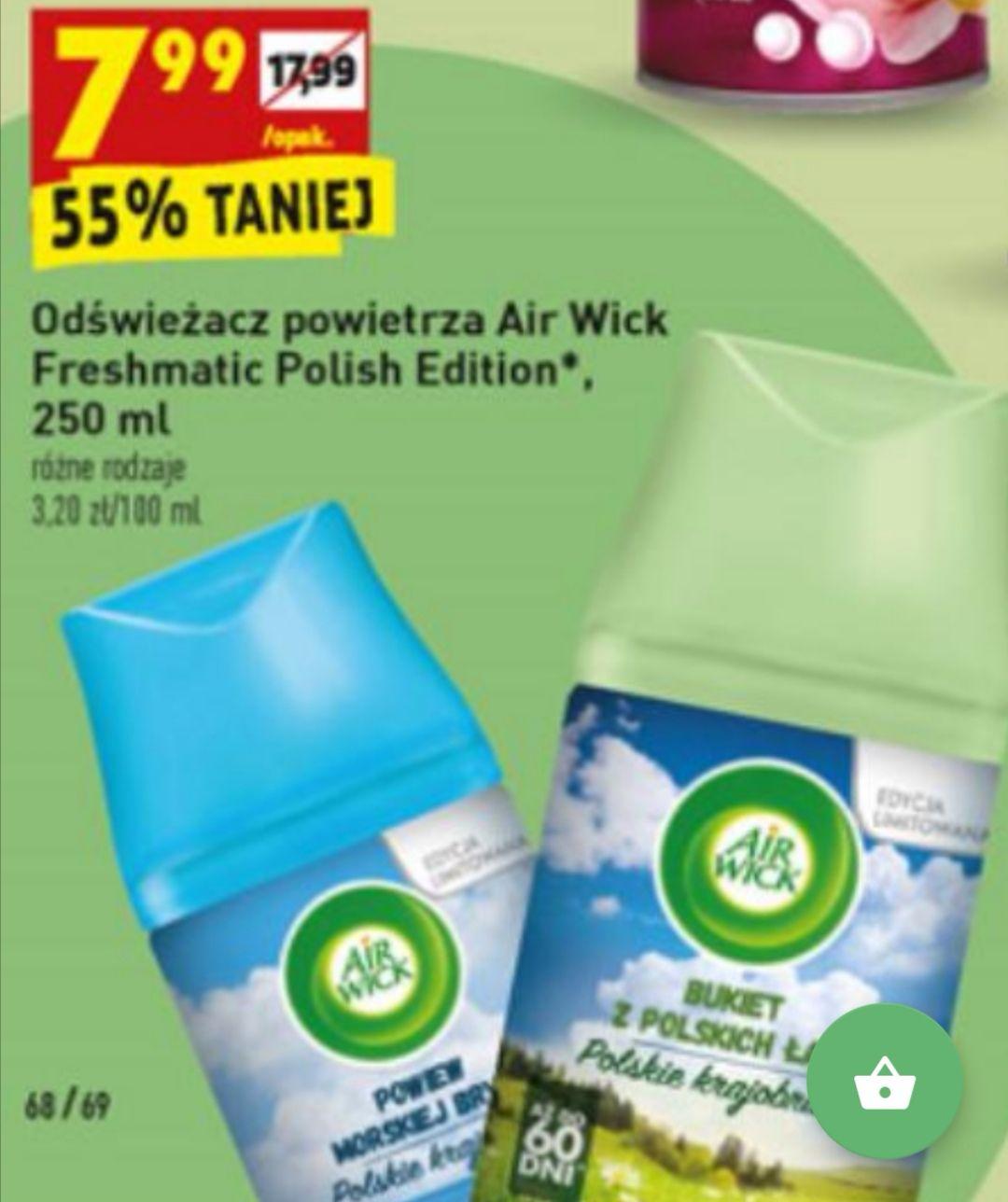 Odświeżacz powietrza Air Wick Freshmatic Polish Edition [Biedronka]