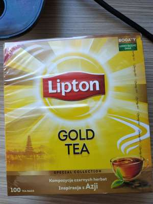 LIPTON Gold Tea 100 szt.