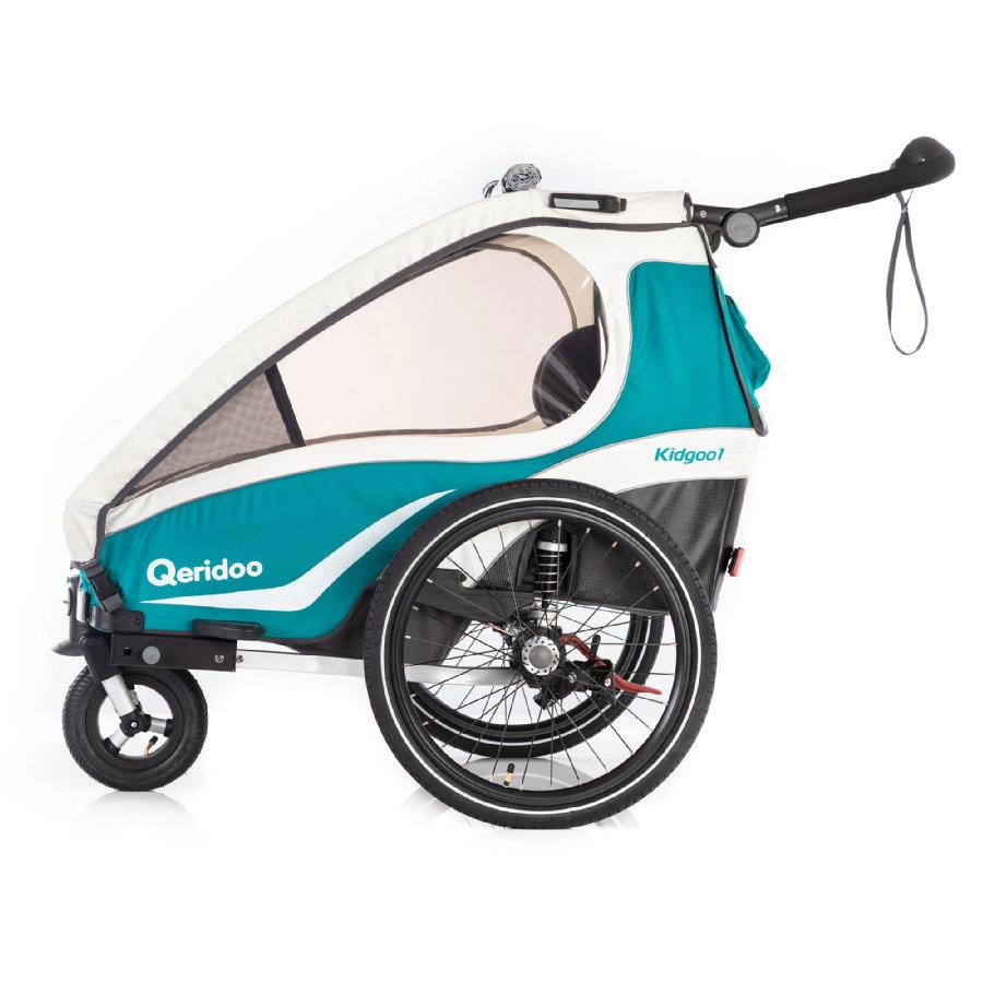 Przyczepka rowerowa Qeridoo Kidgoo1 za 1594zł @ Pink or Blue