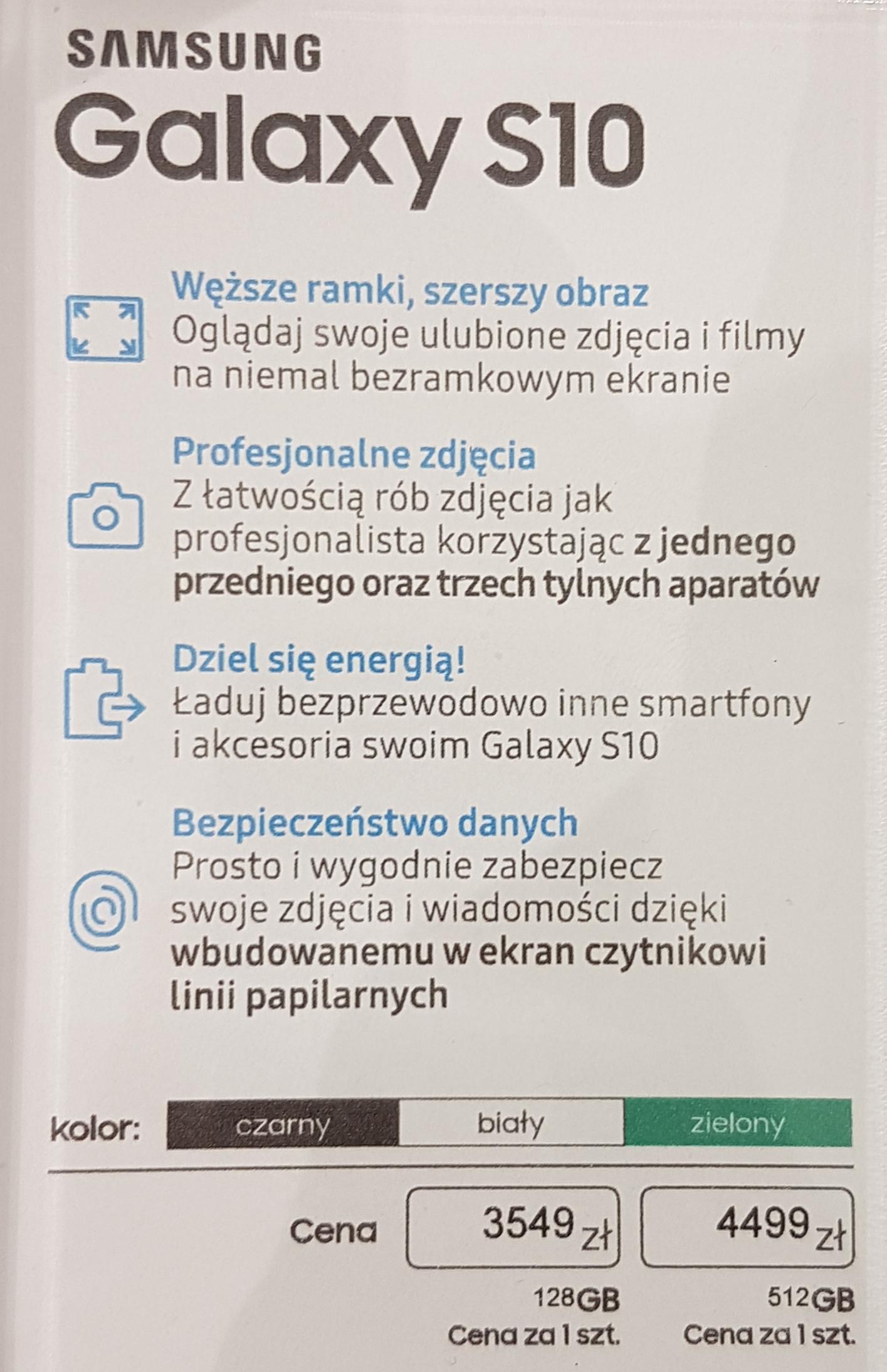 Samsung Galaxy S10 128GB @ Galeria Północna Warszawa