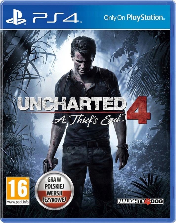 Uncharted 4: Kres Złodzieja [PS4] za 48,99zł z darmową dostawą SMART! @ Allegro