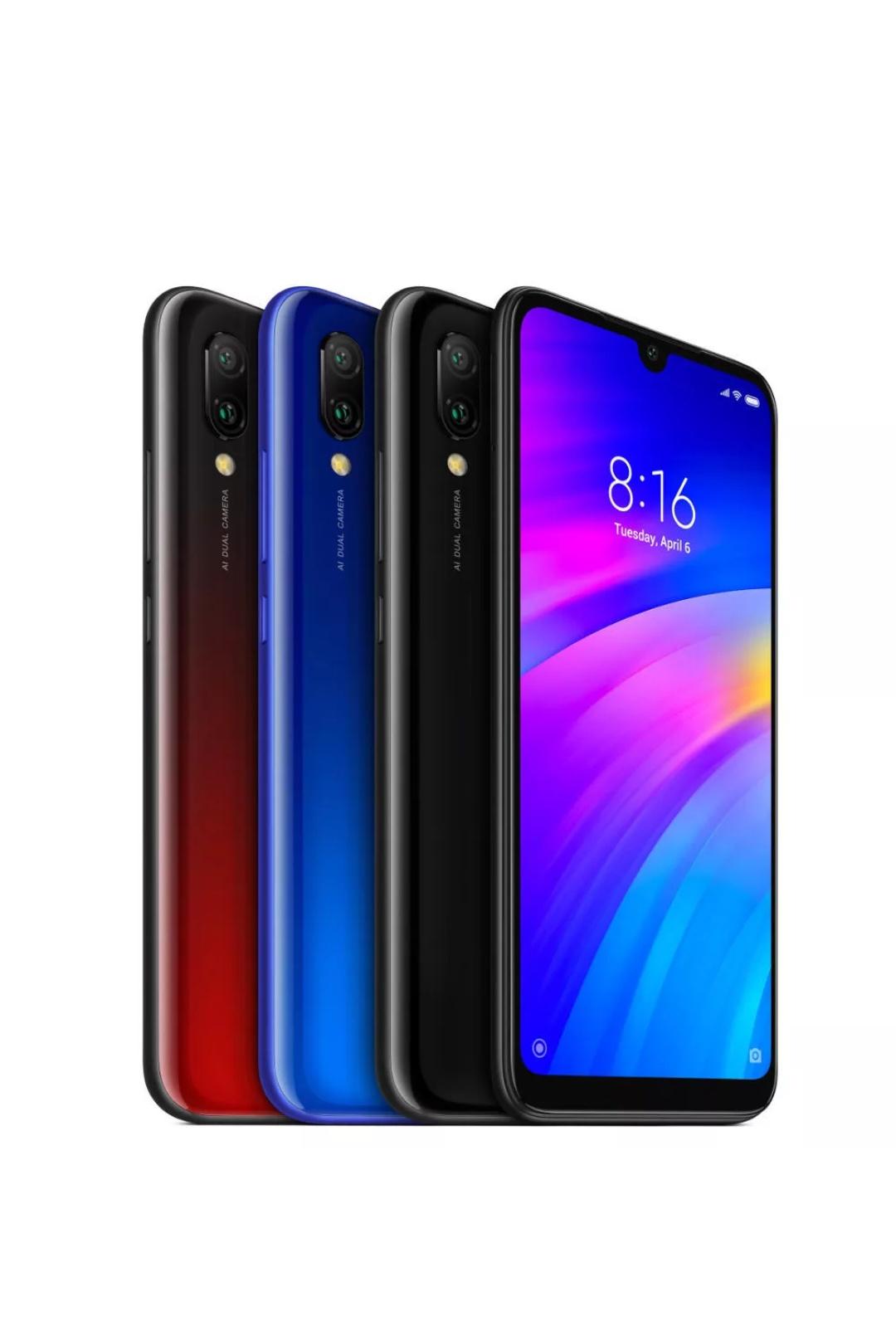 Xiaomi redmi 7, global, 3/64, 6.26'', snapdragon 632 octa