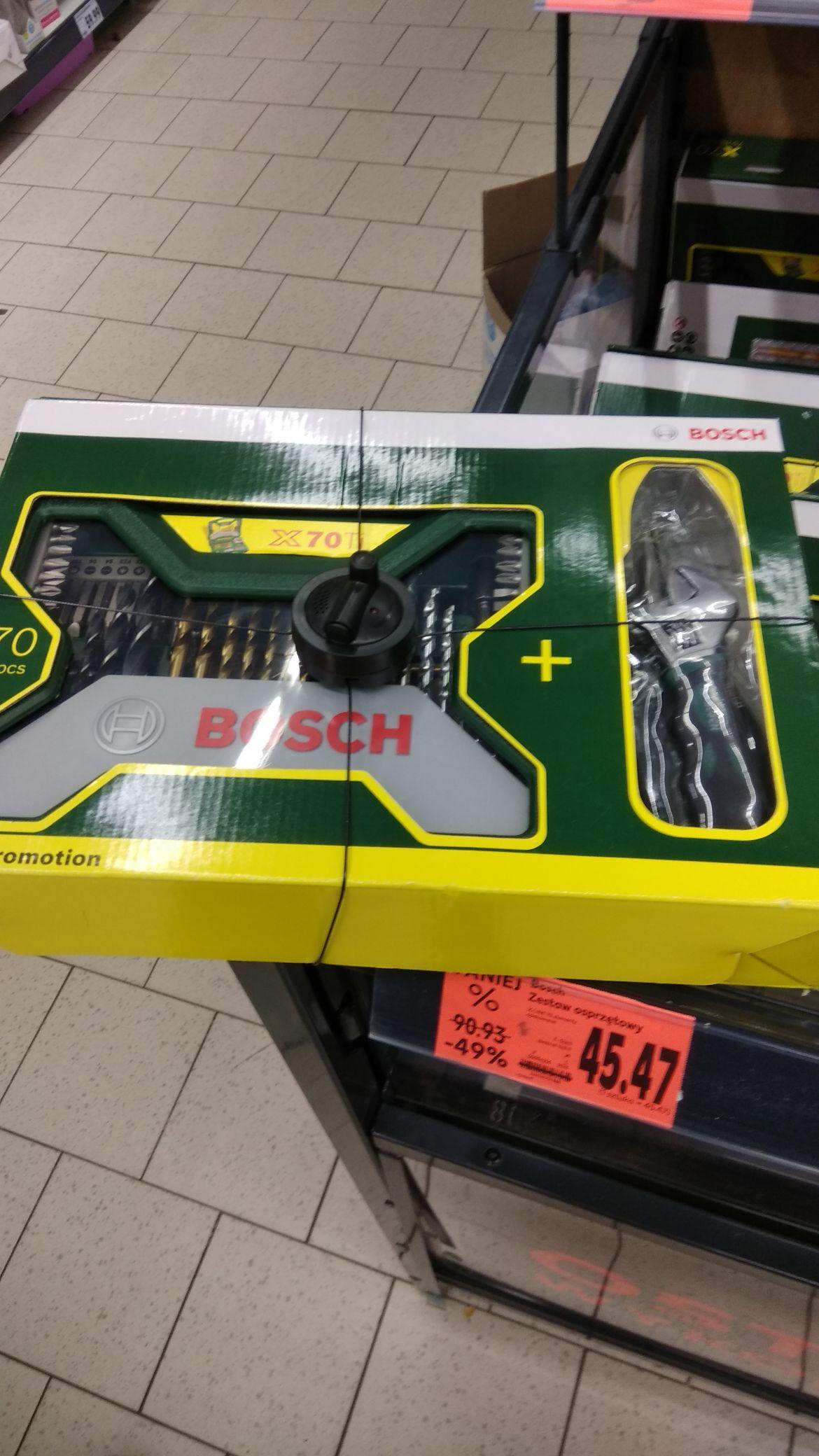 Bosch X70Ti zestaw osprzętowy. Kaufland.