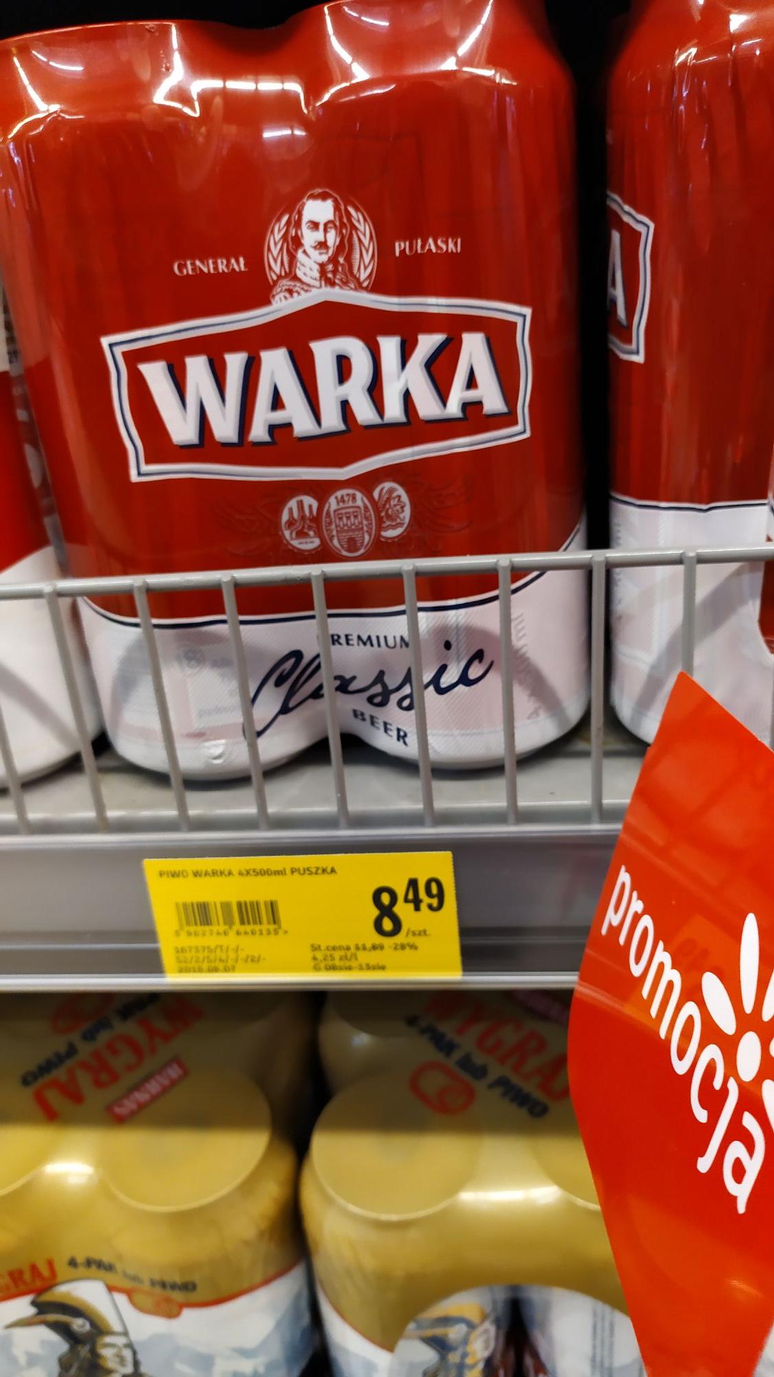 Czteropak Warki Lublin Stokrotka