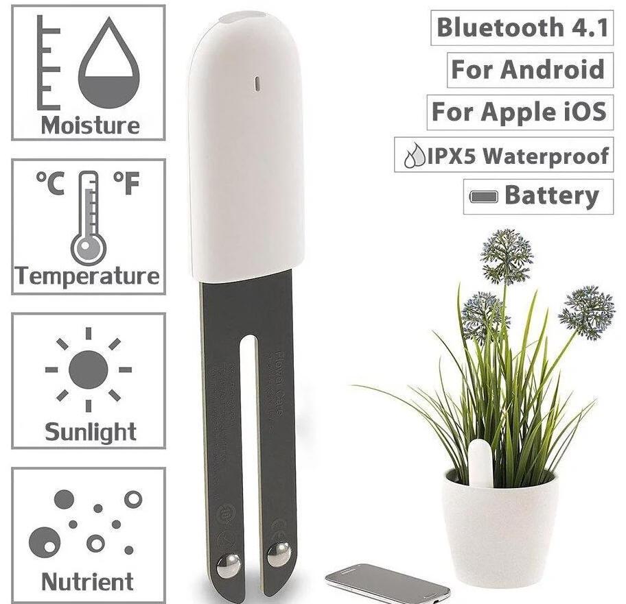 XIAOMI - czujnik 4 in 1 do monitorowania flory kwiatowej ( Bluetooth )