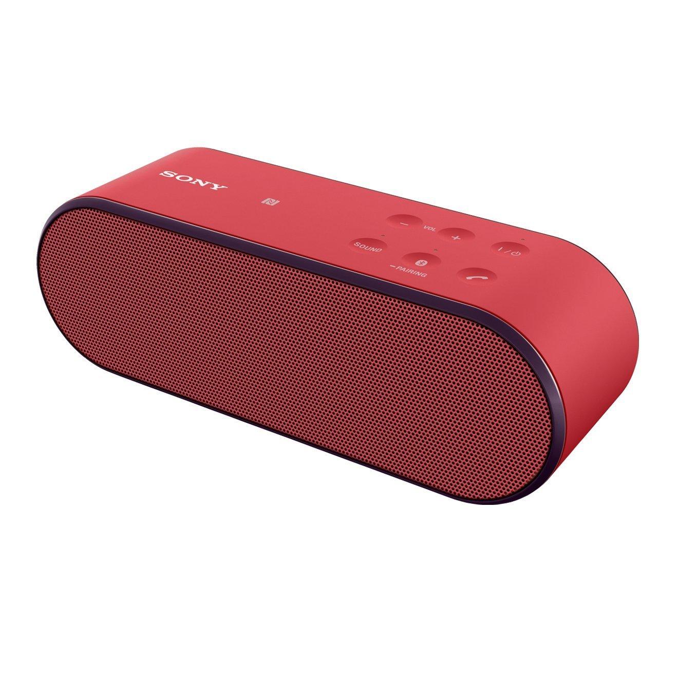 Głośnik bezprzewodowy SONY SRS-X2 czerwony @ Amazon.co.uk