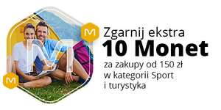 Allegro: +10 Monet za zakupy od 150 zł w kategoriach: Sport i turystyka