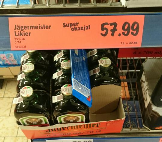 Jägermeister 0,7 Lidl
