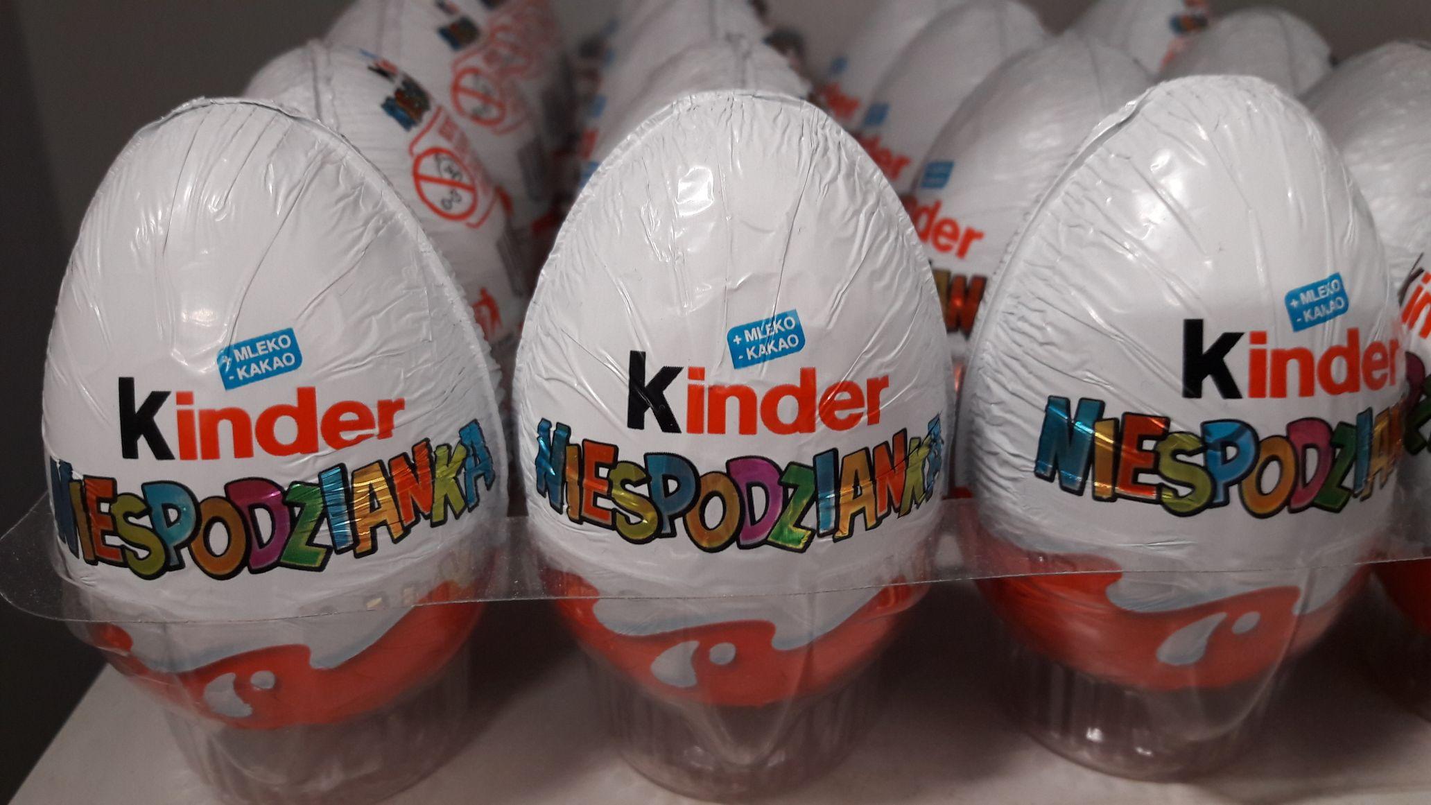 Jajko Kinder Niespodzianka Carrefour Toruń