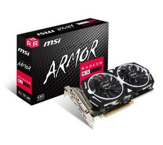 MSI Radeon RX 570 ARMOR 4GB OC GDDR5 256bit na euro.com.pl
