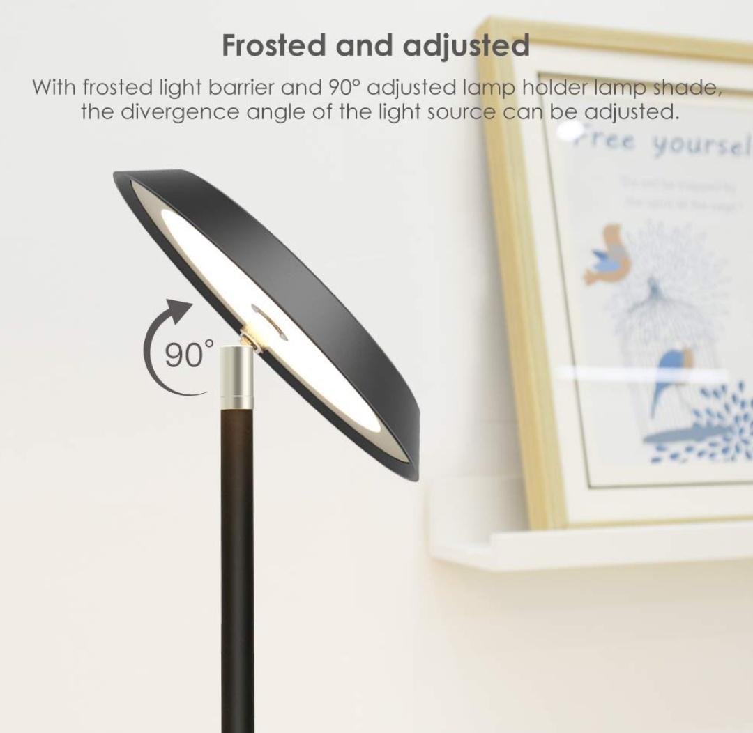 TECKIN Lampa stojąca LED - 20W