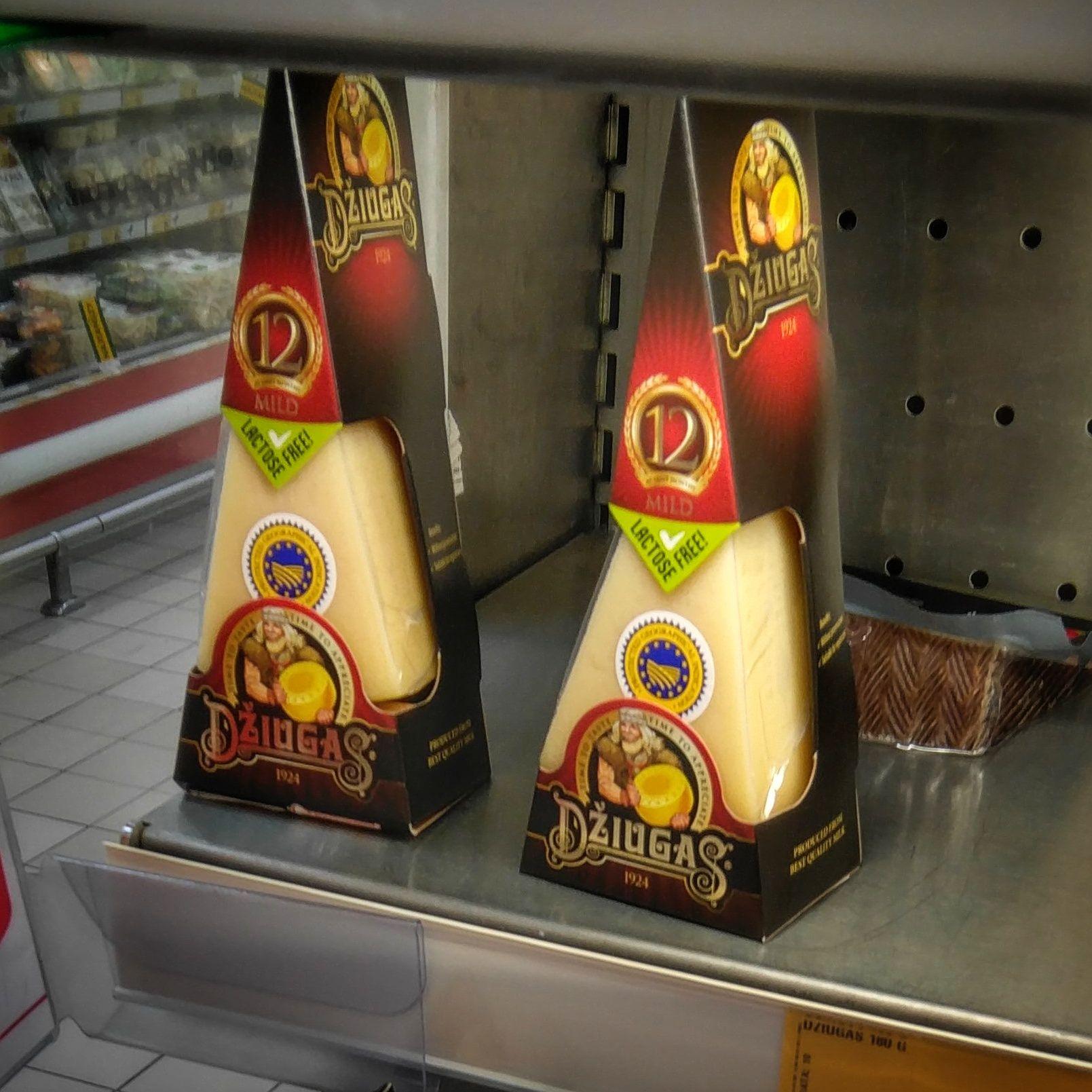 Dojrzewający ser Dziugas w Auchan - drugi za 1 grosz!