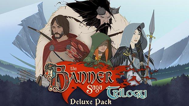 The Banner Saga Trilogy (1-3 w wersji Deluxe) za 69,5 zł @ greenmangaming