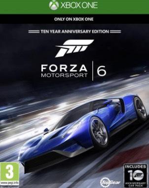 Forza 6 Xbox One z kodem w x-kom