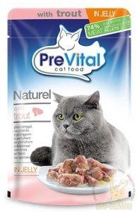 Mokra karma dla kota z łososiem - 28 saszetek