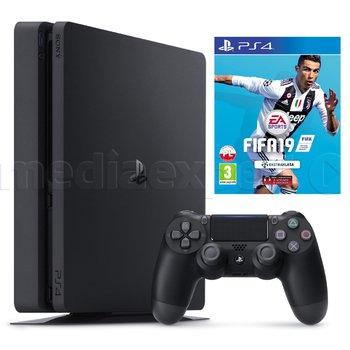PlayStation 4 slim 1 TB + Fifa 19 za 1499 zł