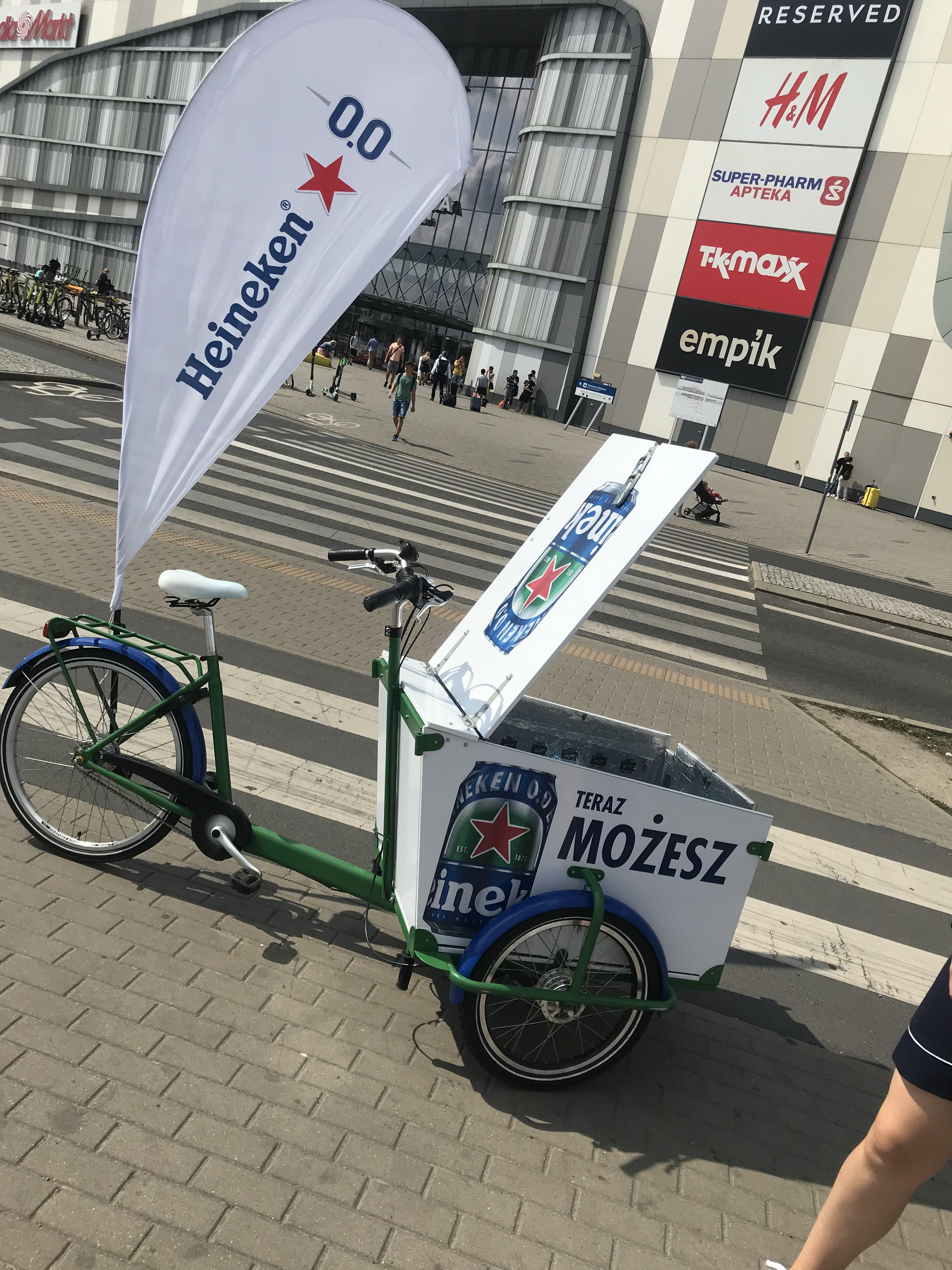 Heineken za darmo w Poznaniu przy avenidzie