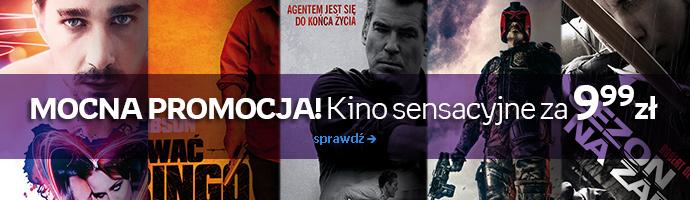 Filmy sensacyjne na DVD za 9,99zł (prawie 60tytułów) @ Empik