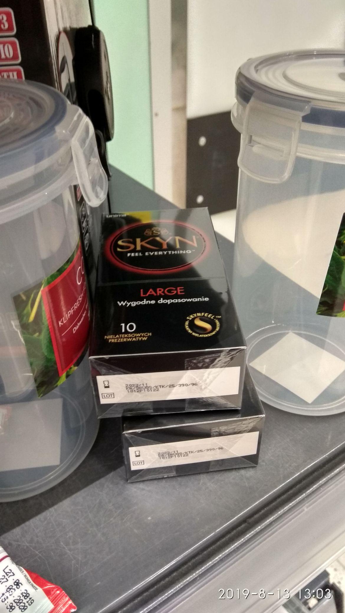 Prezerwatywy SKYN LARGE 10 szt. TESCO LUBLIN