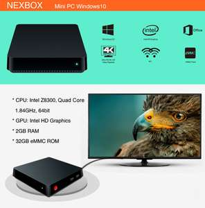 TV Box / Mini PC T11 z Windows 10 (kupon)