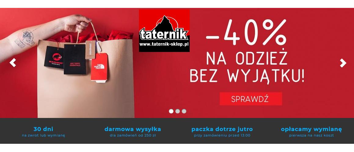 Taternik-sklep.pl - cała odzież taniej o -40%