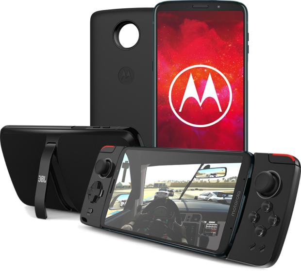 Moto Z3 Play z trzema Moto Mods @ Play bez abonamentu